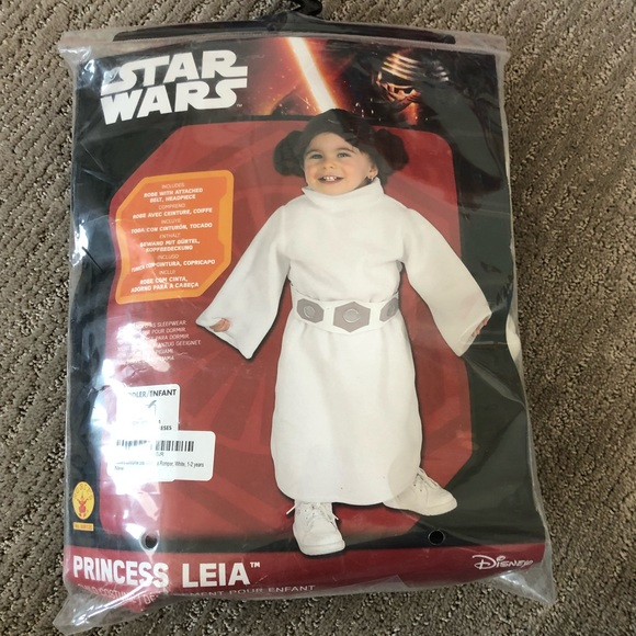 Disney Costumes Princess Leia Toddler Costume Poshmark